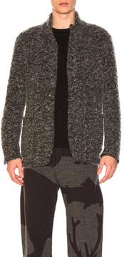 Engineered Garments Knit Blazer in Gray.