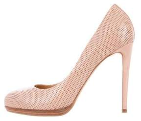 Reed Krakoff Patent Leather Round-Toe Pumps