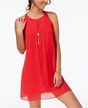 BCX Juniors' Necklace Shift Dress