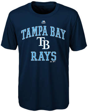 Majestic Tampa Bay Rays City Wide T-Shirt, Big Boys (8-20)