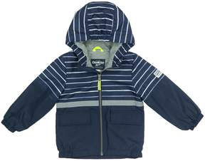 Osh Kosh Oshkosh Bgosh Baby Boy Fleece-Lined Striped Top Transitional Lightweight Jacket