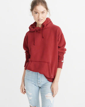 Abercrombie & Fitch Solid Hoodie