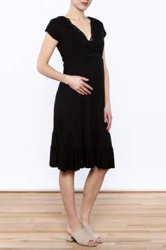Belabumbum Black Ruffle Dress