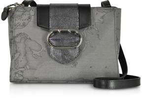 Alviero Martini Wonder Geo Dark Grey Shoulder Bag