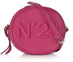 N°21 Women's Fuchsia Leather Shoulder Bag.