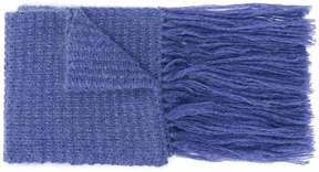 Stella McCartney fringe-trimmed scarf