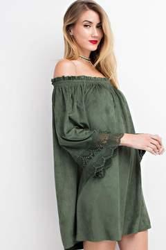 Easel Esken Dress (Green)