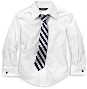 Brooks Brothers Boys' French Cuff Dress Shirt - Little Kid, Big Kid
