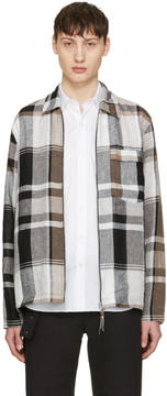 Our Legacy Multicolor Check Tech Jacket