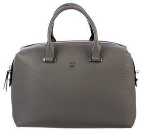 MCM Medium Ella Boston Bowler Bag