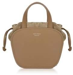 Meli-Melo Women's Beige Leather Handbag.
