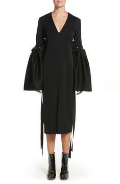 Ellery Women's Adage Detachable Bell Sleeve Dress