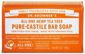 Dr. Bronner's Tea Tree Castile Bar Soap by 5oz Bar)