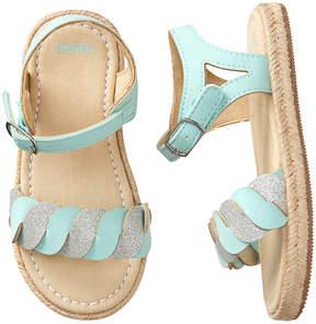 Gymboree Blue Espadrille Sandal - Girls
