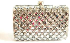 Bling Bling Sisters Black Diamond Clutch