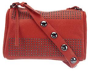 As Is Kelsi Dagger Leather Tyler Long Shoulder Bag w/ Bold Stud