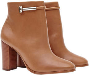 Reiss Zoe Leather Ankle Boot