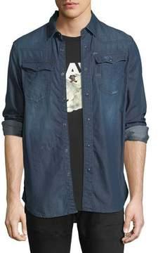 G Star G-Star Kinney Lightweight Distressed Denim Shirt