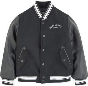 Pepe Jeans Bi-material Teddy jacket