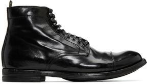 Officine Creative Black Anatonia 16 Boots