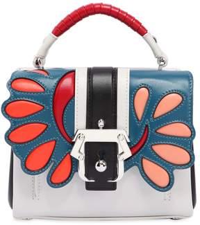 Paula Cademartori Dun Dun Leather Top Handle Bag