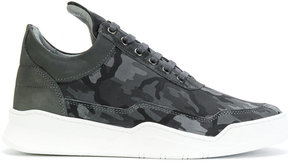 Filling Pieces camouflage lace-up sneakers