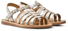 Pom D'Api Pom Dapi Beige Plagette Strap Sandals