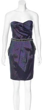 Matthew Williamson Silk Embellished Dress w/ Tags