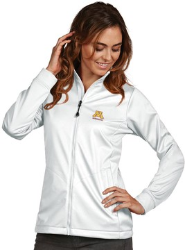 Antigua Women's Minnesota Golden Gophers Waterproof Golf Jacket