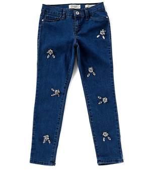 Jessica Simpson Big Girls 7-16 Kiss Me Jewels Jeans