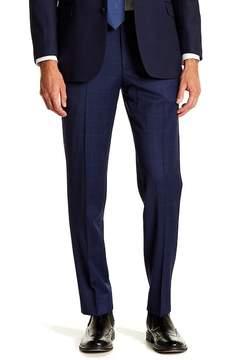 Brooks Brothers Windowpane Print Classic Fit Pants - 30-34\ Inseam