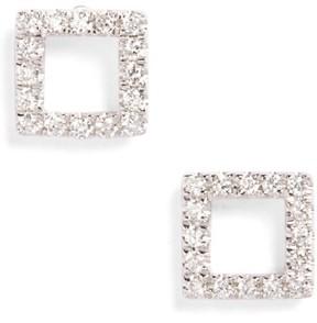 Bony Levy Women's Aurora Diamond Open Square Stud Earrings (Nordstrom Exclusive)
