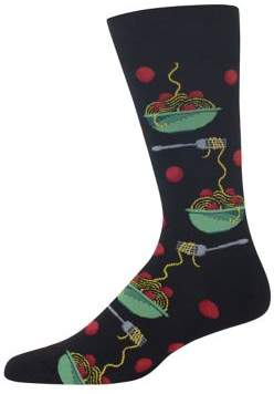 Hot Sox Meatballs Socks