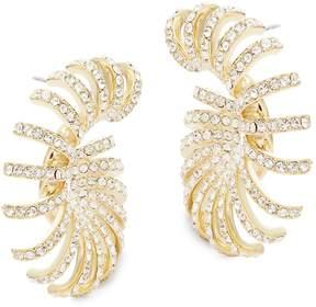 Adriana Orsini Women's Cassandra Pave Hoop Earrings