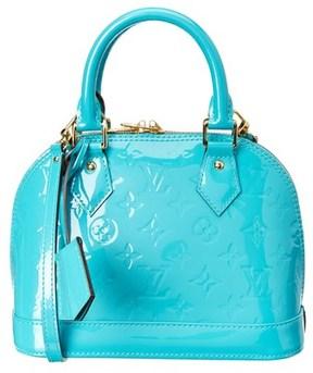 Louis Vuitton Blue Monogram Vernis Leather Alma Bb. - NO COLOR - STYLE