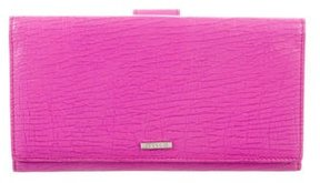 Gucci Leather Continental Wallet - PINK - STYLE