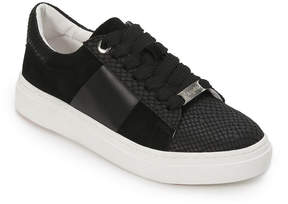 Foot Petals Black Fallon Leather Sneaker - Women