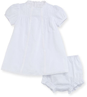 Luli & Me Swiss Dot Dress w/ Bloomers, Size 3-24 Months