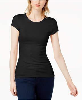 Bar III Ribbed T-Shirt, Created for Macy's