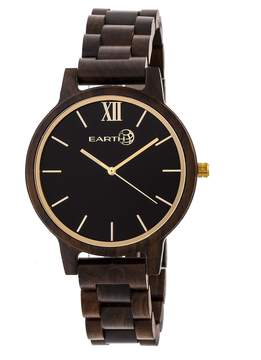Earth Pike Black Dial Watch