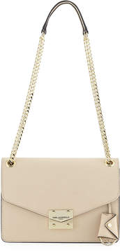 Karl Lagerfeld Paris Corrine Saffiano Leather Shoulder Bag