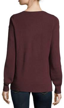 Christopher Fischer Cashmere Blouson-Sleeve Sweater