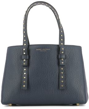 Marc Jacobs Blue Leather Handle Bag - BLUE - STYLE