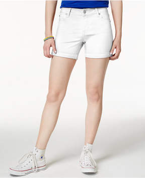 Celebrity Pink Juniors' 5 Cuffed Colored Shorts