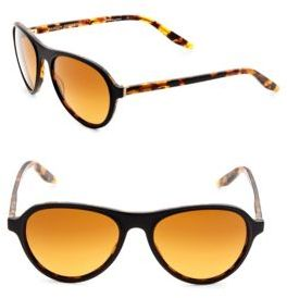 Barton Perreira 54mm Round Sunglasses