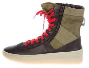 Fear Of God Leather Military Boots