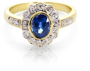 Aspinal of London Debutante Sapphire Diamond Ring