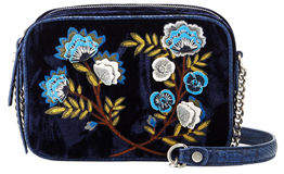 Sam Edelman Perri Crushed Velvet Crossbody Bag