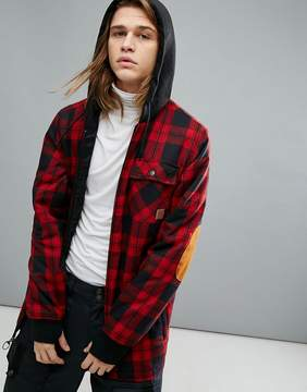DC Snow Backwoods Checked Jacket With Insulated Flannel