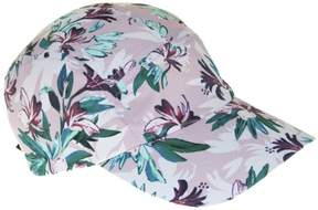 Nine West Womens Floral Baseball Hat One Size Pink/green